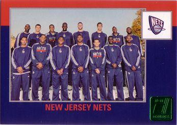 Donruss #264 New Jersey Nets CL - Die Cuts Emerald