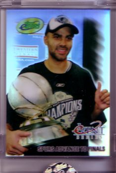 2005 eTopps Playoffs #4 Tony Parker