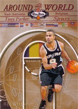 2002-03 Fleer Box Score #212 Tony Parker AW