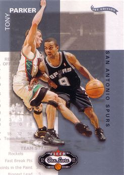 2002-03 Fleer Box Score First Edition #13 Tony Parker
