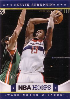 2012-13 Hoops Glossy #176 Kevin Seraphin