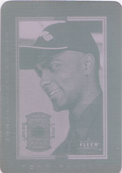Fleer Genuine Tony Parker 149 - Print Plate