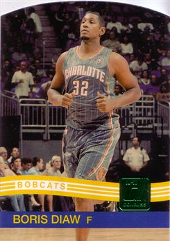 2010-11 Donruss Die Cuts Emerald #163 Boris Diaw