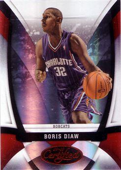 2009-10 Certified Mirror Red #130 Boris Diaw
