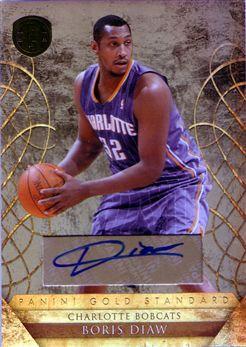 2010-11 Panini Gold Standard Signatures #149 Boris Diaw/199