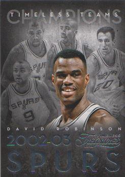 2013-14 Timeless Treasures Timeless Teams #44 David Robinson