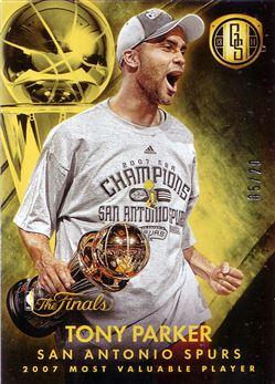 2013-14 Panini Gold Standard Finals MVP #5 Tony Parker