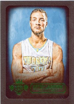 2015-16 Court Kings Portraits Emerald #64 Joffrey Lauvergne