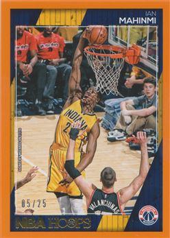 2016-17 Hoops Orange #99 Ian Mahinmi