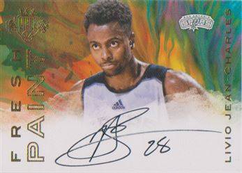 2016-17 Court Kings Fresh Paint Autographs #32 Livio Jean-Charles