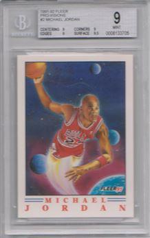 1991-92 Fleer Pro-Visions #2 Michael Jordan