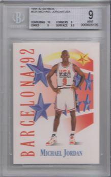 1991-92 SkyBox #534 Michael Jordan USA