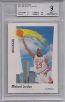 1991-92 SkyBox #583 Michael Jordan SM
