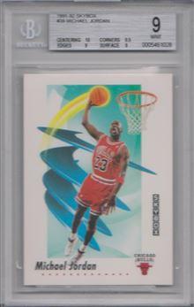 1991-92 SkyBox #39 Michael Jordan