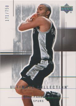 2003-04 Ultimate Collection #99 Tony Parker