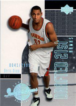 2002-03 Upper Deck Inspirations Rookie Holofoil #176A Boris Diaw