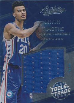 2016-17 Absolute Memorabilia Tools of the Trade Rookie Materials Jumbo #17 Timothe Luwawu-Cabarrot