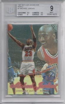 1997-98 Flair Showcase Row 2 #1 Michael Jordan