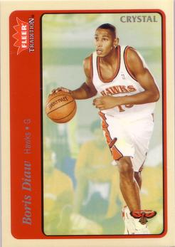 Fleer Tradition Boris Diaw 2 - Crystal