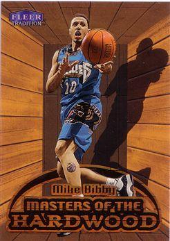 1999-00 Fleer Masters of the Hardwood #2 Mike Bibby