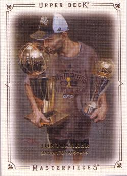 2009-10 Upper Deck Masterpieces #MATP Tony Parker
