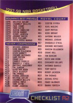 Stadium Club Checklist R2 - Tariq Abdul Wahad BBP