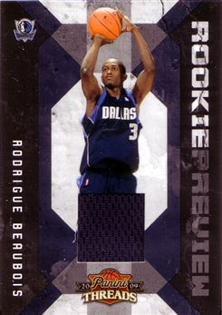 2009-10 Panini Threads Rookie Preview Jerseys #23 Rodrigue Beaubois