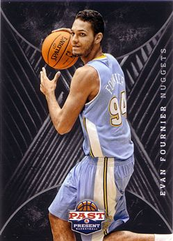 2011-12 Panini Past and Present 2012 Draft Pick Redemptions #20 Evan Fournier