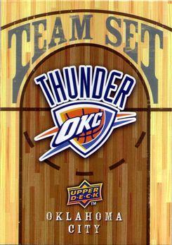 2008-09 Thunder Upper Deck Checklist