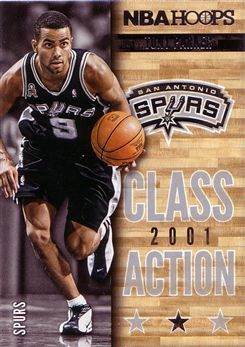 2013-14 Hoops Class Action #12 Tony Parker