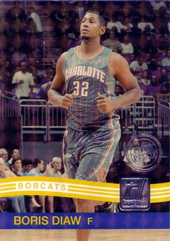 2010-11 Donruss Press Proofs #163 Boris Diaw
