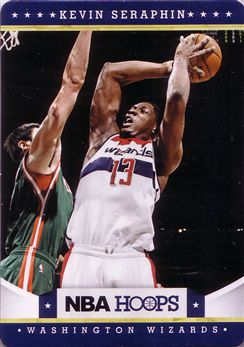 2012-13 Hoops Taco Bell #120 Kevin Seraphin