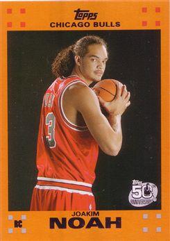 2007-08 Topps Rookie Set Orange #9 Joakim Noah