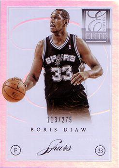 2012-13 Elite Series #21 Boris Diaw