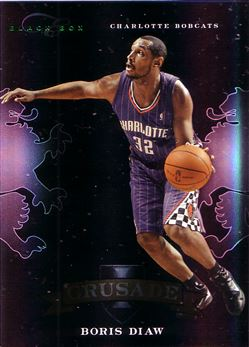 2010-11 Elite Black Box Crusade #36 Boris Diaw