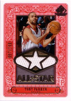 2007-08 SP Game Used All-Star Jersey #ASTP Tony Parker