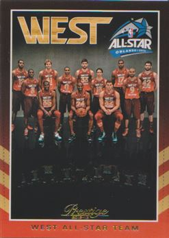 2012-13 Prestige All-Stars West #14 Team Photo