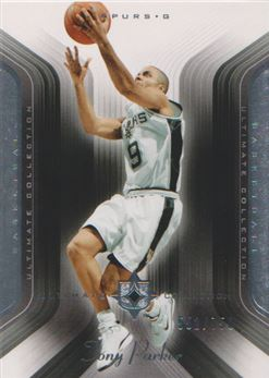 2004-05 Ultimate Collection #99 Tony Parker