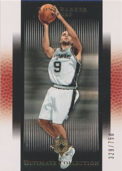 2005-06 Ultimate Collection #113 Tony Parker