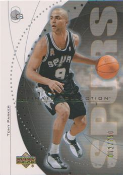 2002-03 Ultimate Collection #59 Tony Parker