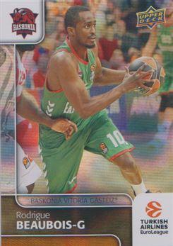2016-17 Upper Deck Euroleague Basketball 94 Rodrigue Beaubois