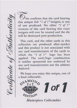 1998-99 SkyBox Thunder #97 Tariq Abdul-Wahad - Promo Diamond Edition - Certificate