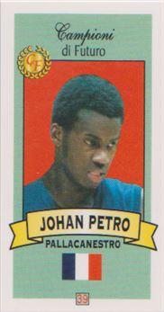 2003-04 Camponio di Futuro Johan Petro #39