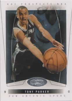 2004-05 Hoops Hot Prospects #48 Tony Parker