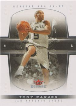 2004-05 Fleer Genuine #83 Tony Parker