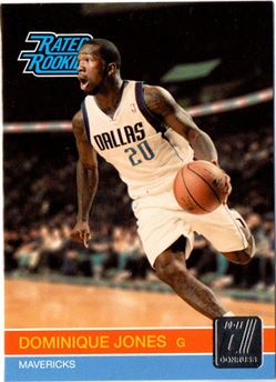 2010-11 Donruss #252 Dominique Jones RC