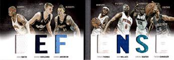 2011-12 Panini Preferred Defense Memorabilia #3 Josh Smith/199/Ben Wallace/Chris Andersen/Emeka Okafor/Tyrus Thomas/Tyson Chandler/Andrei Kirilenko
