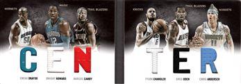 2011-12 Panini Preferred Centers Memorabilia #3 Emeka Okafor/199/Chris Andersen/Marcus Camby/Tyson Chandler/Dwight Howard/Greg Oden