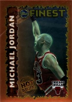 1995-96 Finest Hot Stuff #HS1 Michael Jordan