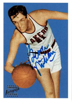 1996 Topps Stars Reprint Autographs #30 George Mikan